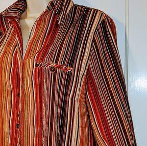 Allison Daley 3/4 Sleeve Button Shirt